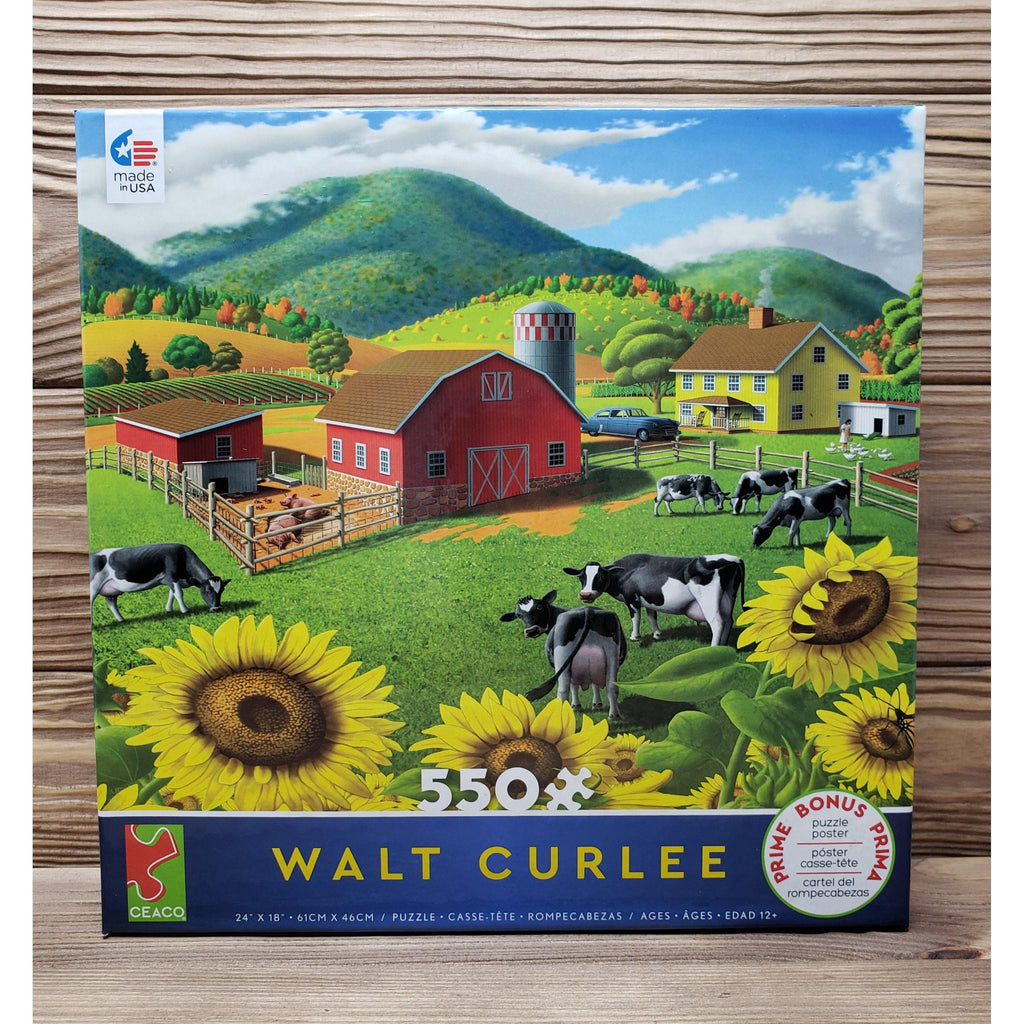 Ceaco-Walt Curlee Sunflowers-Puzzle
