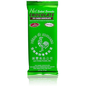 Huy Fong - Hot Salted Sriracha 70% Dark Chocolate -  Bar