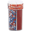 Dean Jacob's - Patriotic Themed - 4 In 1 Sugar Sprinkles