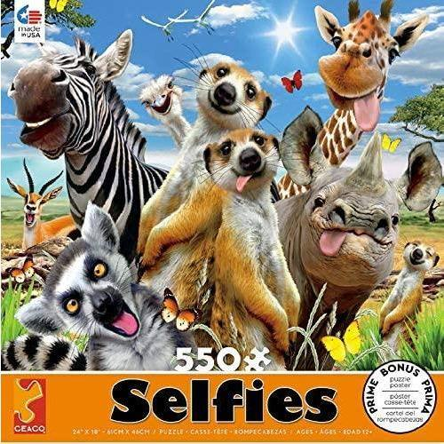 Ceaco - African Sun Selfies - Jigsaw Puzzle