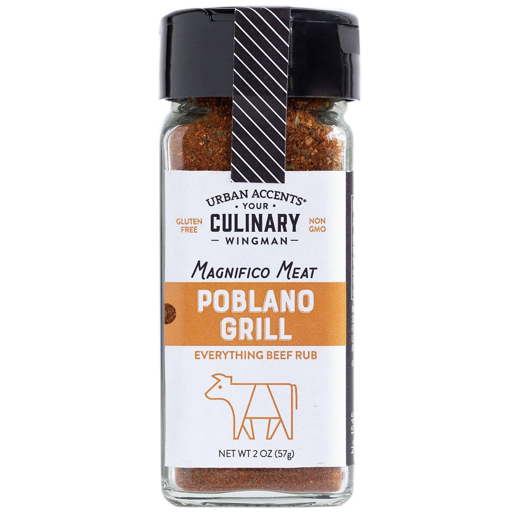 Urban Accents - Culinary Wingman - Poblano Grill - Everything Beef Rub
