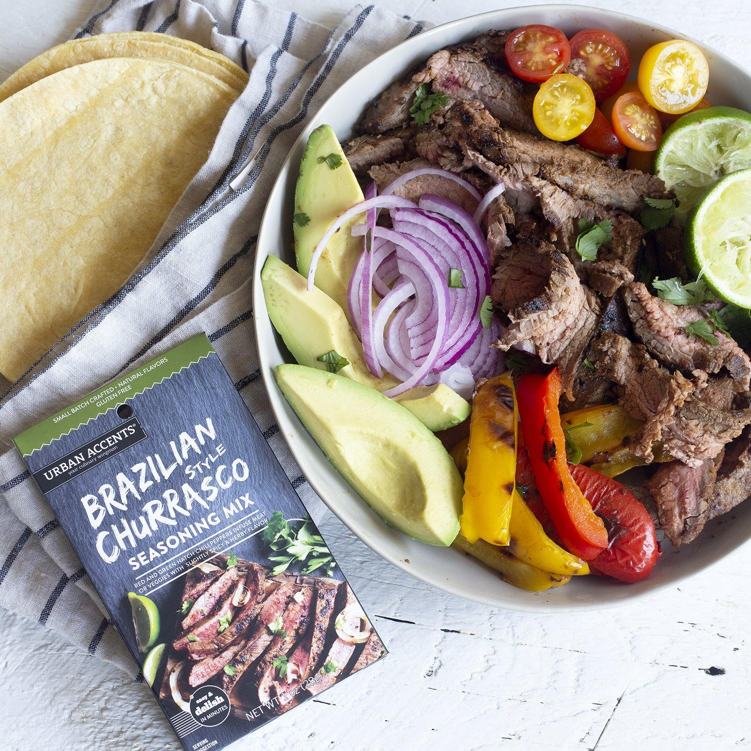 Urban Accents - Brazilian Style Churrasco - Seasoning Mix