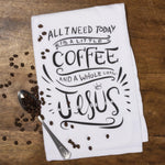 Primitves By Kathy - A Whole Lot Of Jesus - Dish Towel