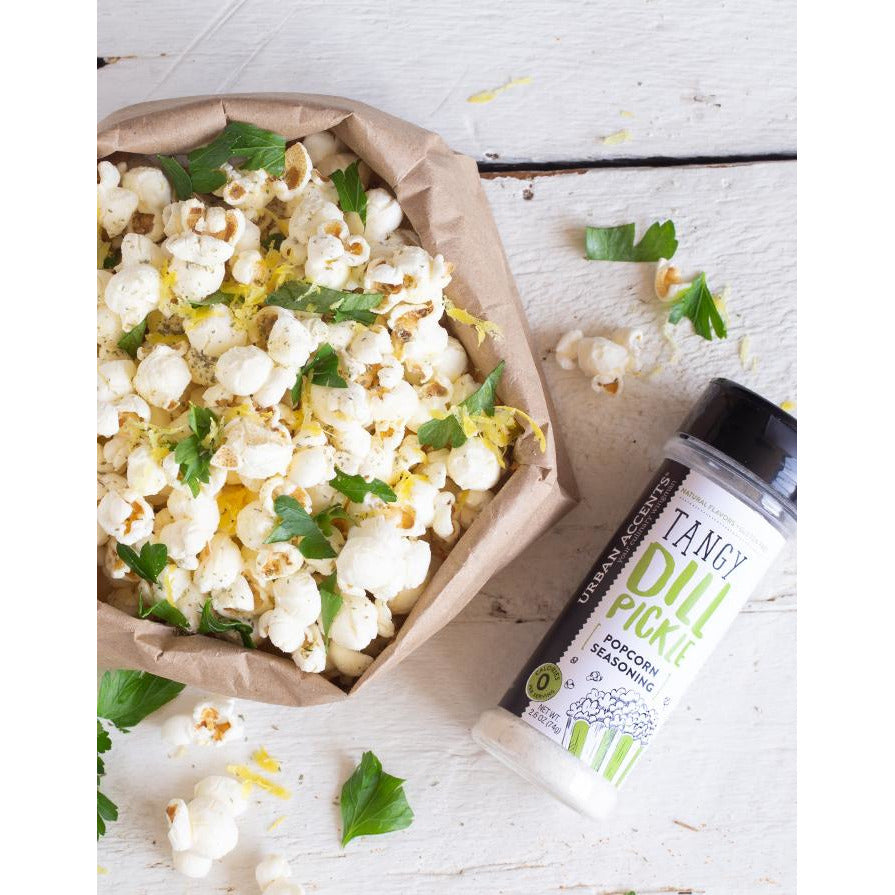 Urban Accents - Tangy Dill Pickle - Popcorn Seasoning
