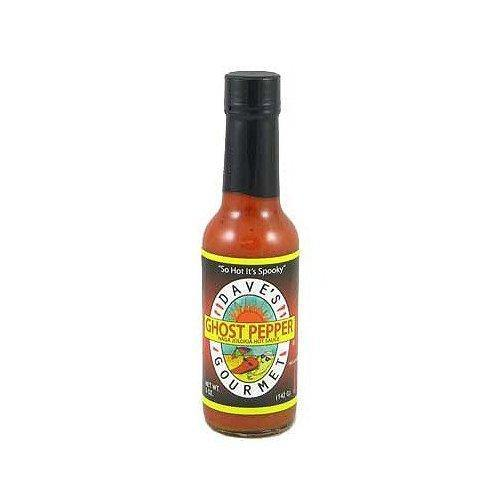 Dave's Gourmet - Ghost Pepper Naga Jolokia -  Hot Sauce