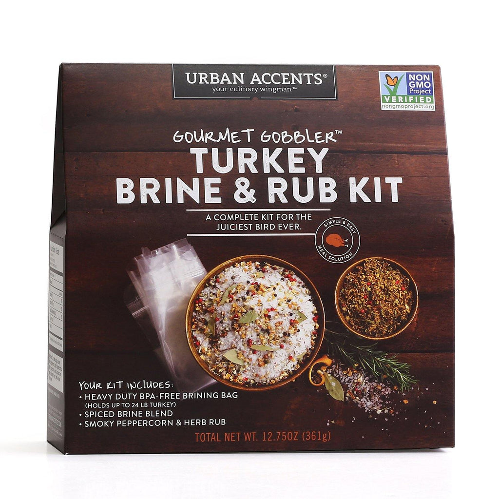 Urban Accents - Gourmet Gobbler Turkey Brine & Rub - Kit