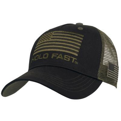Kerusso-Hold Fast-Mens Hat-Black Flag
