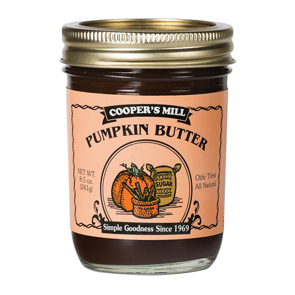 Cooper's Mill - Pumpkin Butter  - Half Pint Jar