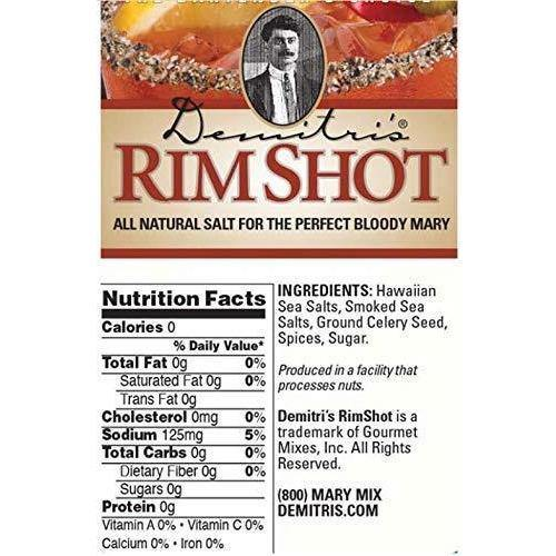 Demitri's - Pepperoni Straws and All Natural Spiced - Rim Shot