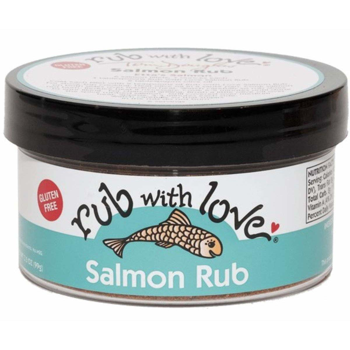 Tom Douglas - Rub With Love - Salmon  Rub