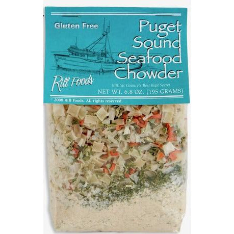 Rill Foods - Puget Sound Seafood Chowder - Mix
