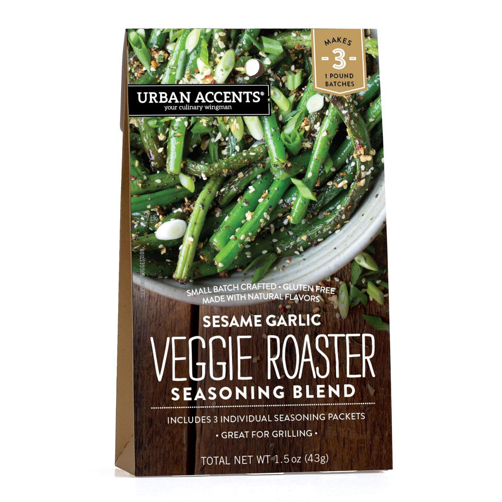 Urban accents - Sesame Garlic - Veggie Roaster Seasoning Blend