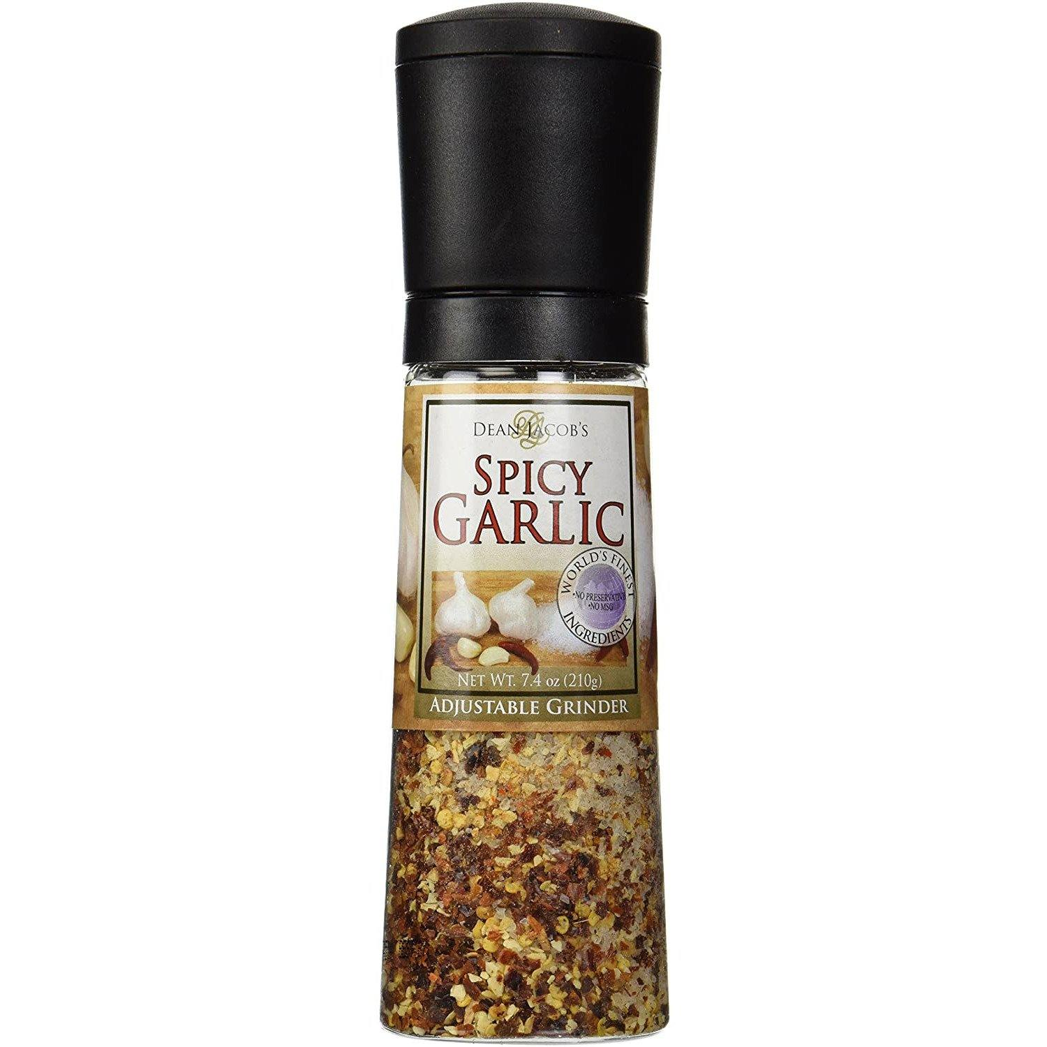 Dean Jacobs - Spicy Garlic- Adjustable Grinder