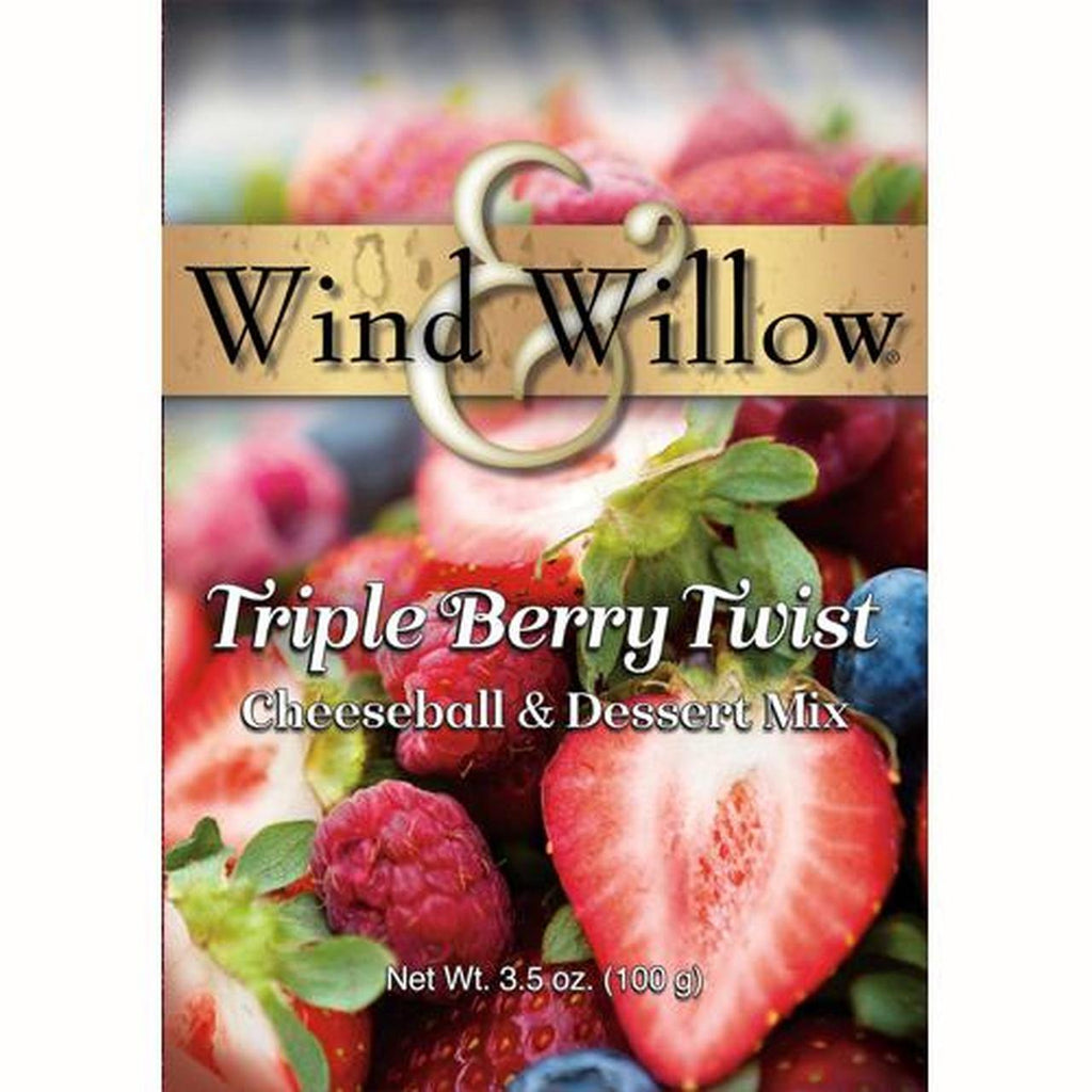 Wind and Willow - Triple Berry Twist - Cheeseball and Dessert Mix