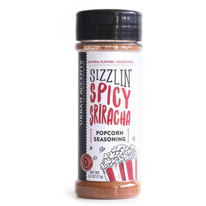 Urban Accents - Sizzlin' Spicy Sriracha - Popcorn Seasoning