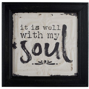 Blossom Bucket - Well With My Soul - Wall Art