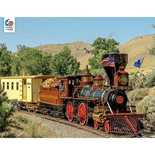 Ceaco - All Aboard Valley of the Mountain Puzzle - 750 Piece