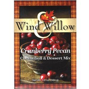Wind and Willow - Cranberry Pecan -Cheeseball & Dessert Mix