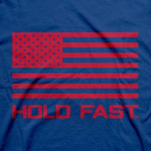 Kerusso-Hold Fast Folded Flag -T Shirt
