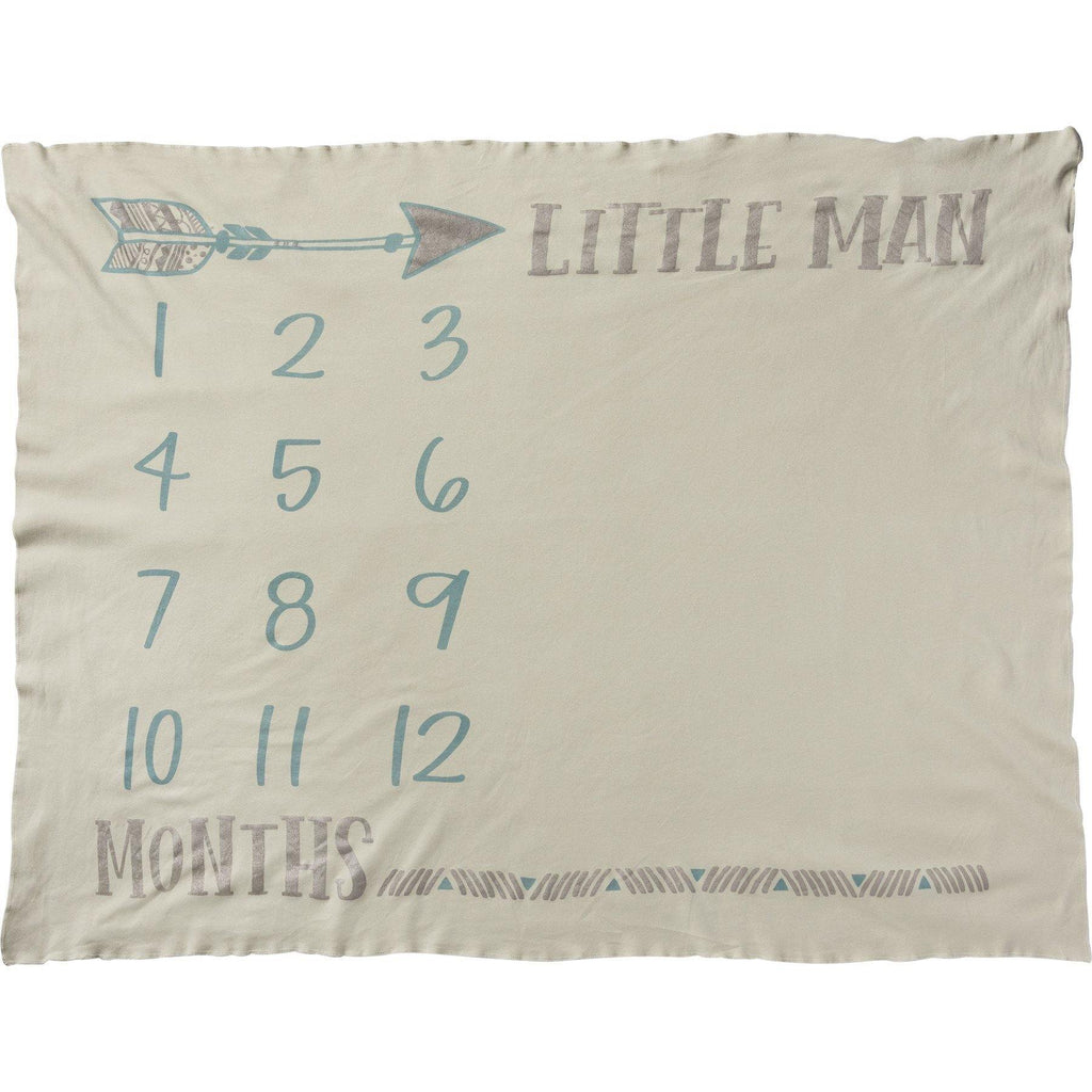 Primitives By Kathy-Milestone Blanket-Little Man