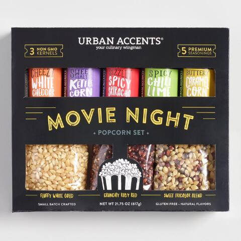 Urban Accents - Movie Night - Popcorn Set
