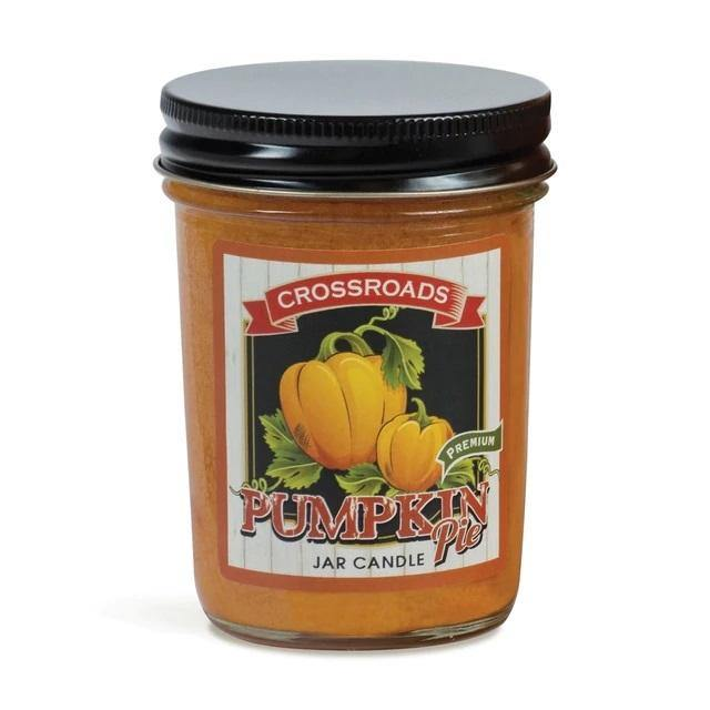 Crossroads - Pumpkin Pie - Half Pint Jar Candle