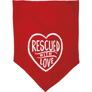 Primitives By Kathy - Rescued with Love - Pet Bandana Small
