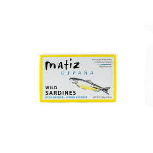 Matiz Wild - Sardines with Natural Lemon Essence