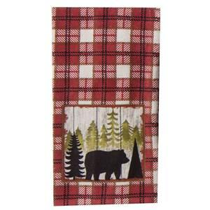 Kay Dee Designs-Simple Living Bear-Terry Towel