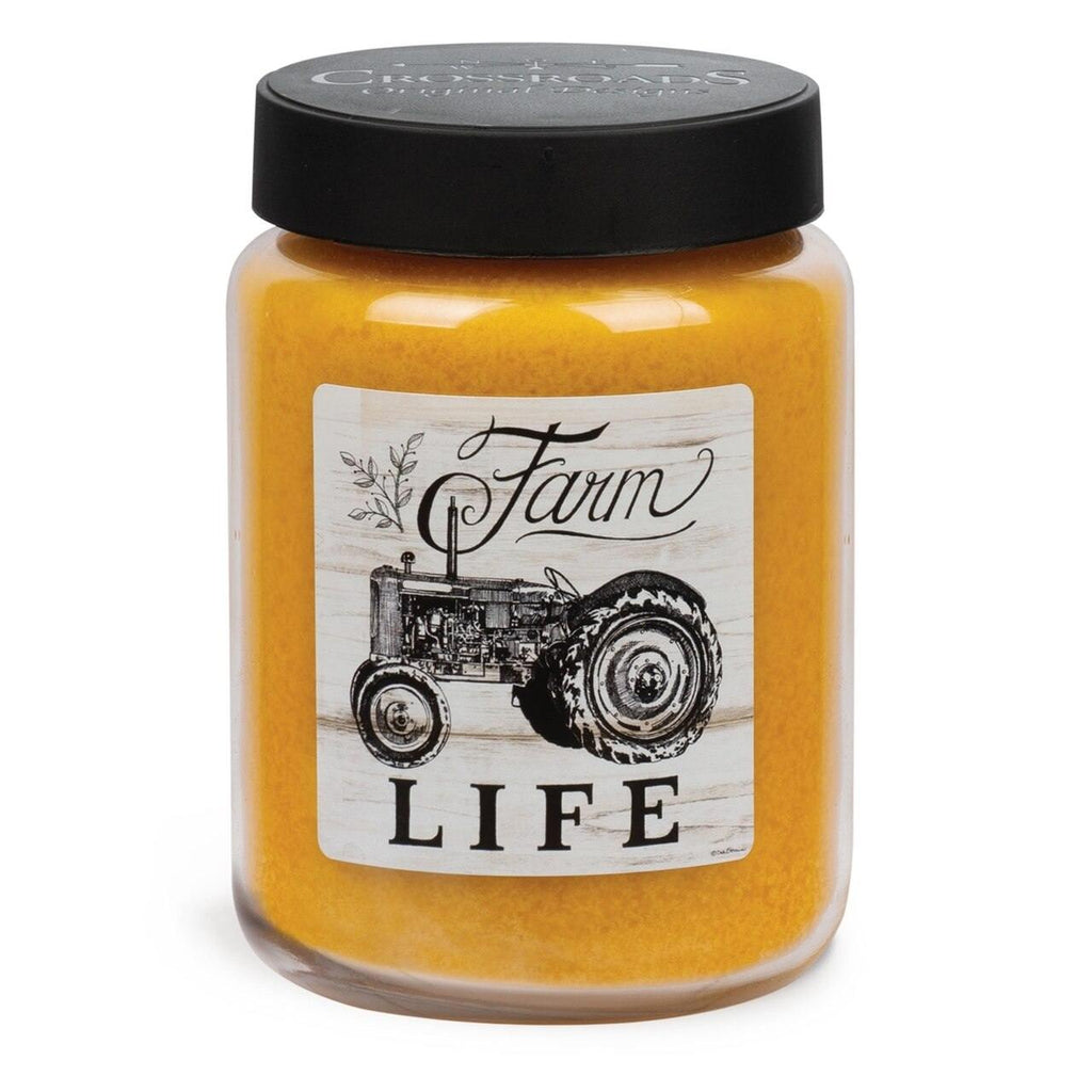Crossroads - Spiced Georgia Peach Farm Life - Jar Candle