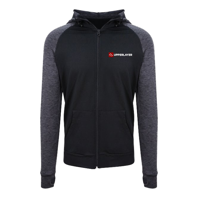 Upperlayer's Mens Cool Lightweight sports Zoodie