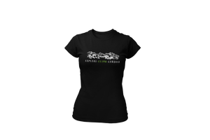 Open image in slideshow, Upperlayer Womens 'Explore-Climb-Conquer' mountain scene Softstyle tshirt