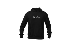 Upperlayer Black hoodie with Live Higher