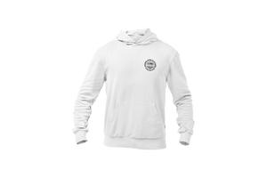 Open image in slideshow, Upperlayer hoodie with rustic design front and back