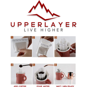 Upperlayer Own signature 'Adventure Fuel' ground Coffee (60g) - upperlayer-clothing.myshopify.com