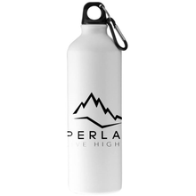 Load image into Gallery viewer, White Upperlayer aluminium water bottle - upperlayer-clothing.myshopify.com