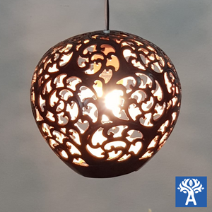 Hanging Gardens: Coconut Shell Lightings