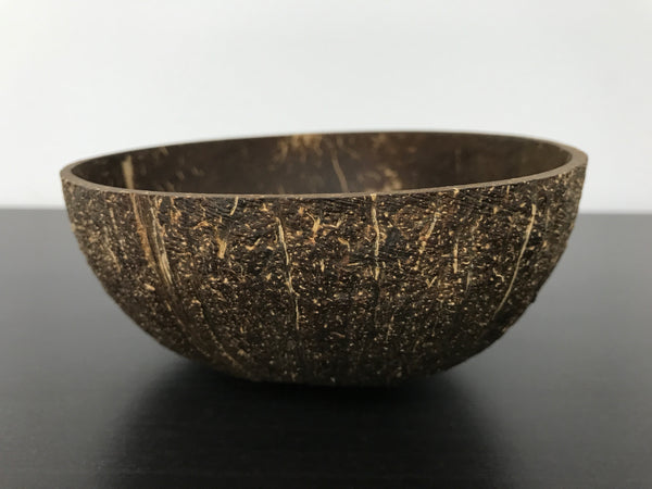 Coconut Bowl (Natural Finish)