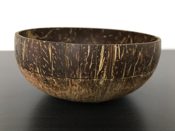 Coconut Bowl Tribal Design 2 (Handcrafted with Love)