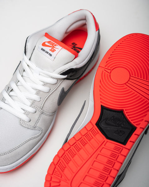 Closer Look | Nike SB Dunk Low Pro ISO Infrared