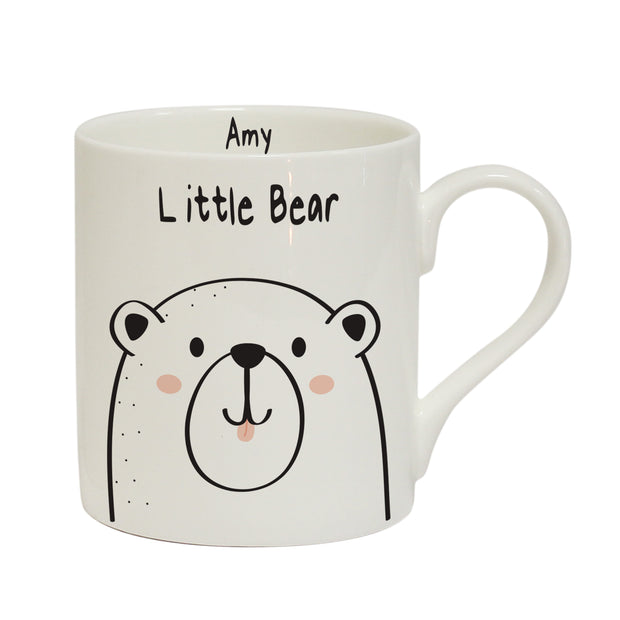 Personalised Little Bear Balmoral Mug
