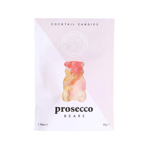 Prosecco Bears Cocktail Gummies