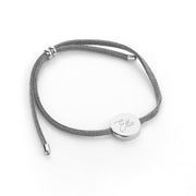 Personalised Signature Grey Bracelet