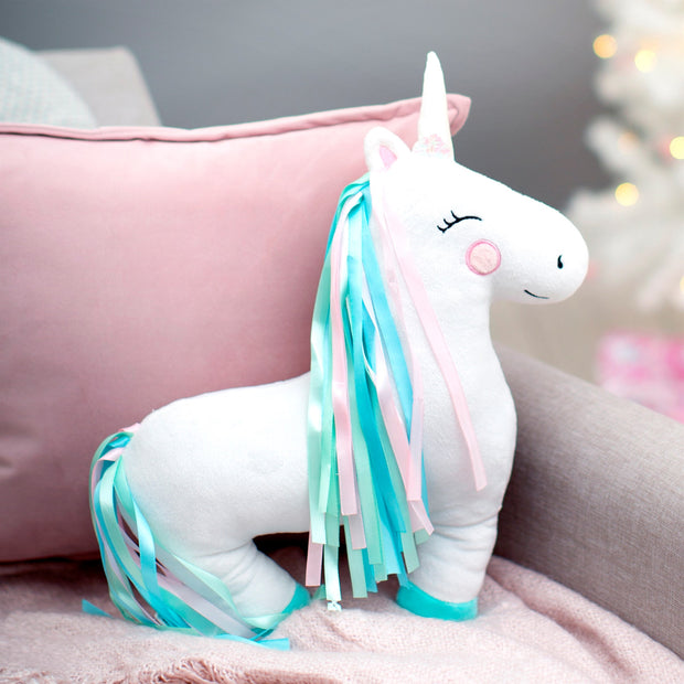 Rainbow Unicorn Decorative Cushion