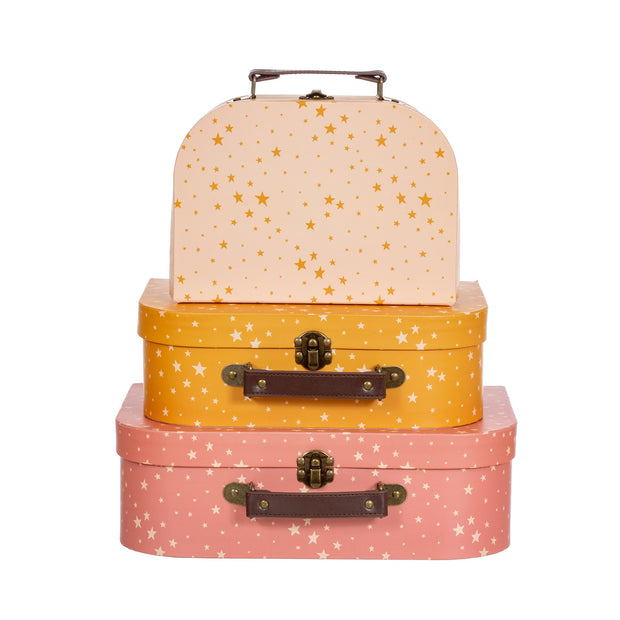 Little Stars Suitcases - Set of 3