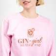 Gin Girl All The Way Christmas Jumper