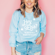 Hey Elsa? Christmas Jumper