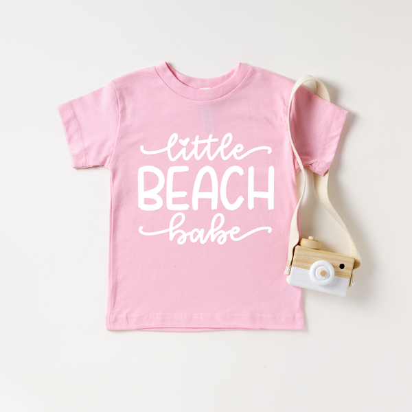 Little Beach Babe Pink T-Shirt