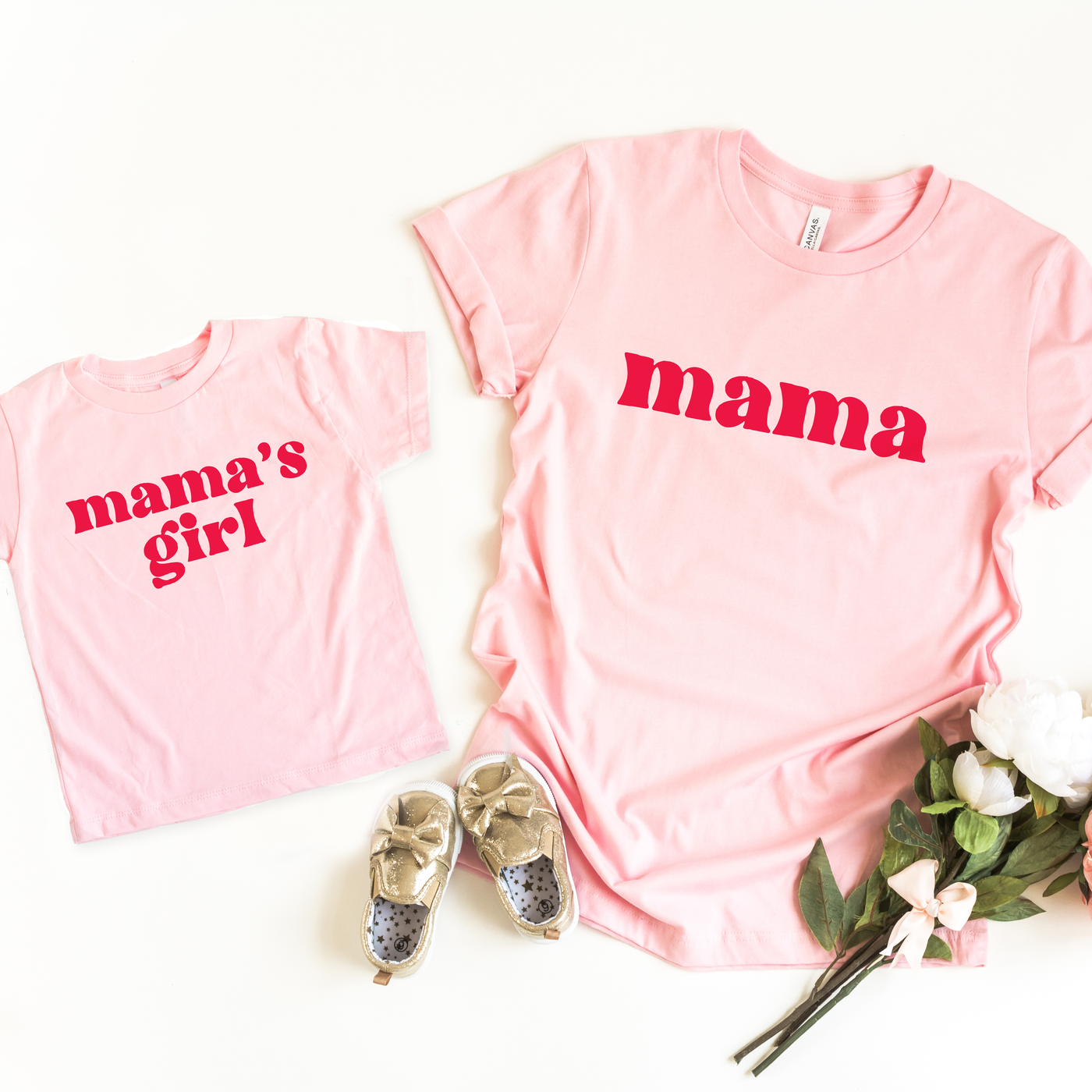 Mama & Mama's Girl Twinning T-shirt Set