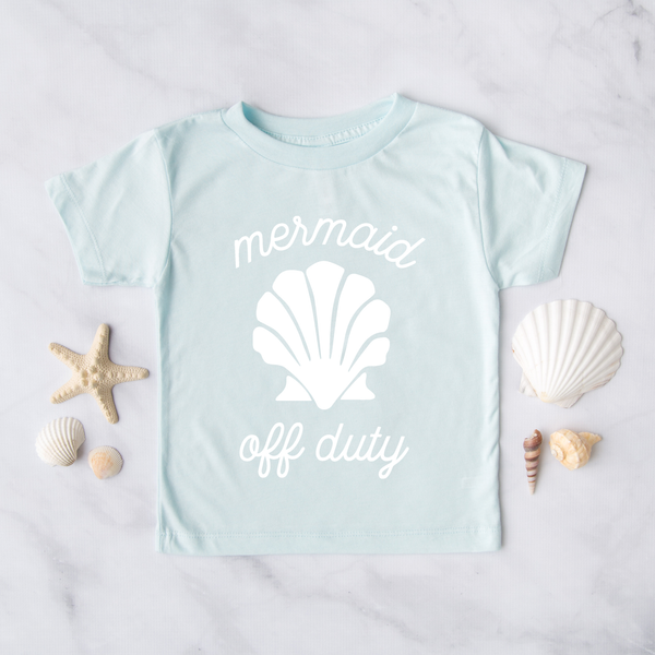Mermaid Off Duty Kids T-Shirt